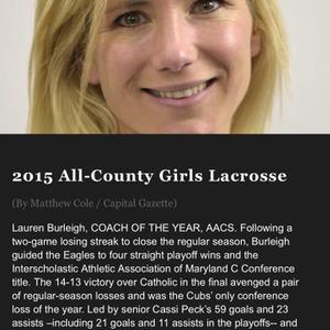 Lauren B., Annapolis, MD Lacrosse Coach
