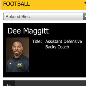 Dee Maggitt, Football Coach