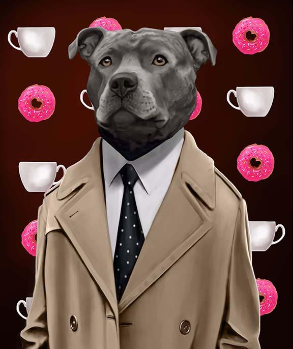 agent cooper dog pit bull