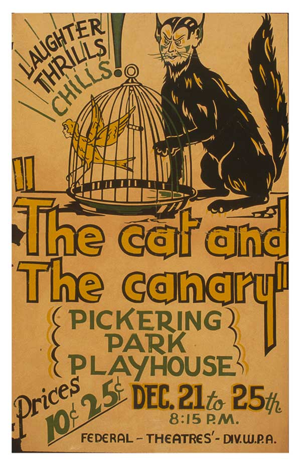 Image of The Cat and the Canary Poster