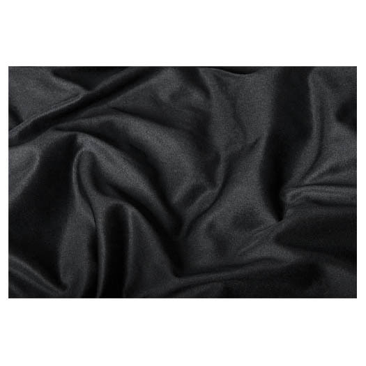Black Drape 3.0m  x 3.6m (10ft x 12ft) Pleated
