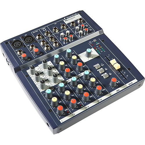 Soundcraft Notepad 102 Pad Mixer