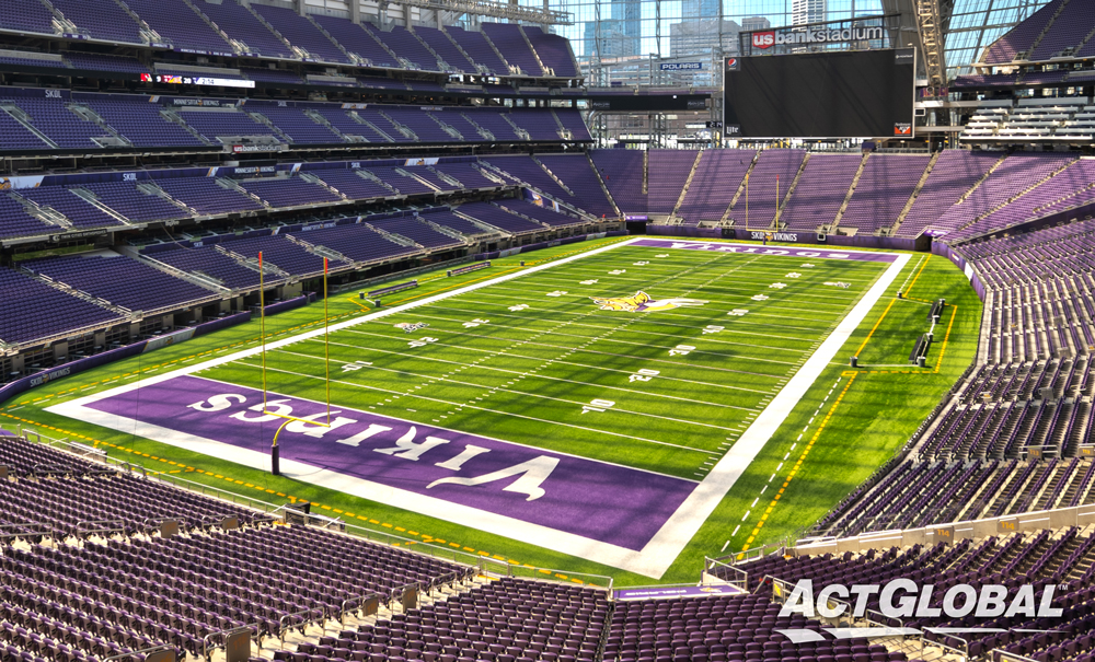 US Bank Stadium and ACT Global