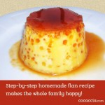 Homemade Flan Recipe Unites Whole Family In The Kitchen