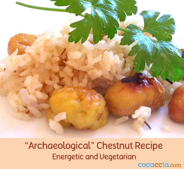 Rice and Chestnut Recipe