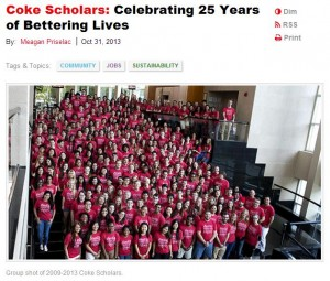 2013 Scholars Celebration