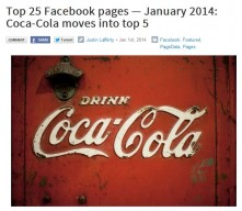 Top 25 Facebook pages!