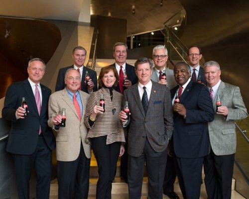 Leadership, Board of Directors, Coca-Cola UNITED