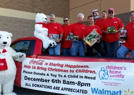 Children's Home Society & Team Pensacola Coca-Cola - Coca-Cola UNITED