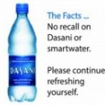Dasani, recall, smartwater, 2015