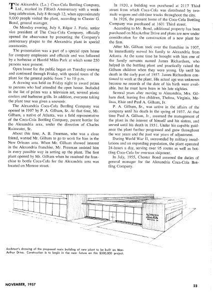 Alexandria Coca-Cola Historical Documents Article p2 cocacolaunited com