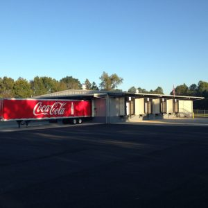 Warehouse, Evergreen, Coca-Cola, Crossdock