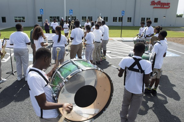 Carver High School, Grand Opening, Facility, Investment, Commitment