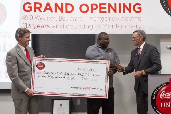 Carver High School, Montgomery, Montgomery Coca-Cola Grand Opening, Investment, Community