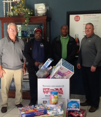 Toys for Tots, Augusta, Community, Associates, volunteer