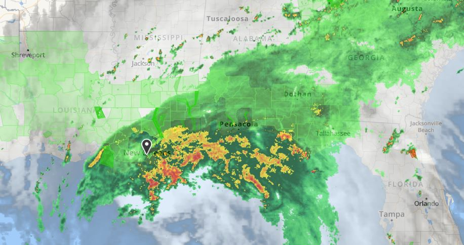 Tropical Storm Cindy, The Weather Channel, UNITED associates