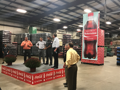 Robertsdale Coca-Cola, Alabama, Coca-Cola UNITED, New Territories, SOF, 21st Century Beverage Model, System of the Future