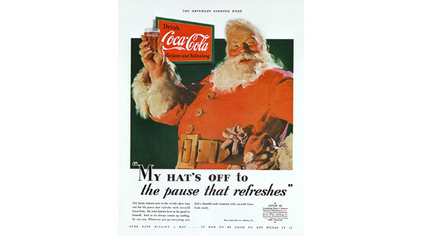 The True History of the Modern Day Santa Claus: The Coca