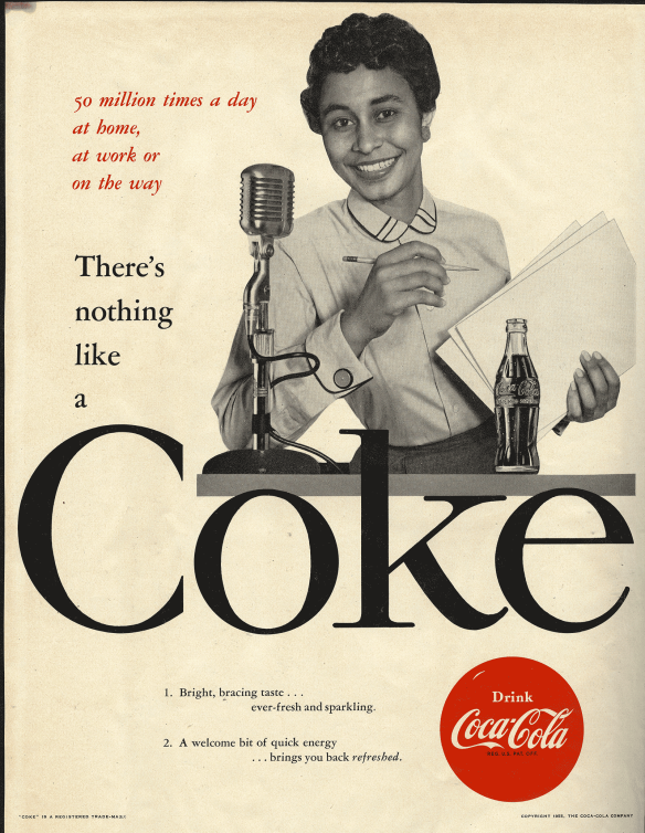 The First African-American Woman to Appear in a Coca-Cola Ad