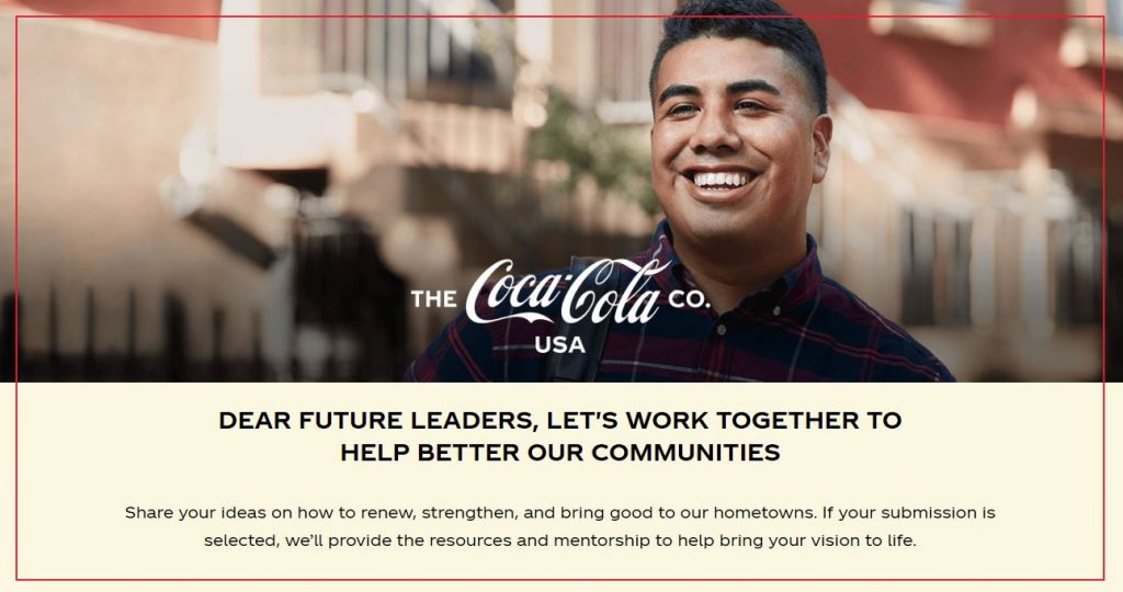 The Coca-Cola Company, Dear Future, community grant opportunity, Tuscaloosa, Alabama, Tuscaloosa Coca-Cola, local bottler, Coca-Cola UNITED family
