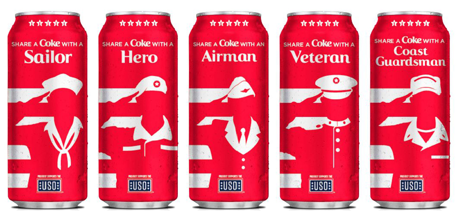 Coca-Cola and Dollar General Team Up for Military Share-A-Coke
