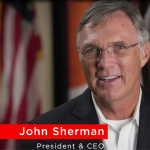 John-Sherman, President and CEO, new face of cocacolaunited.com