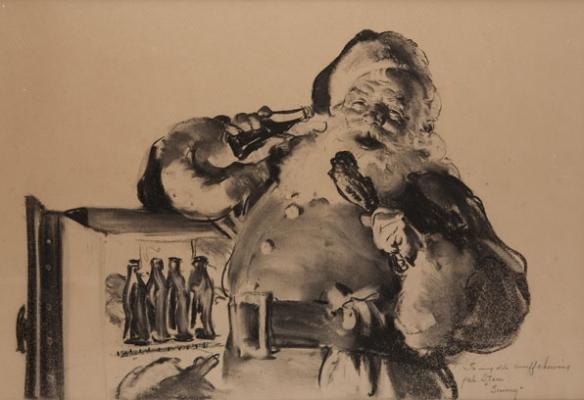 santa-painting-based-on-lou-prentiss