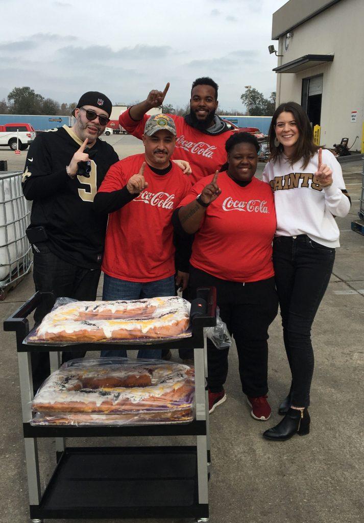 New Orleans Coca-Cola, Our Associates, , Saints Day, 2019, Gate 2