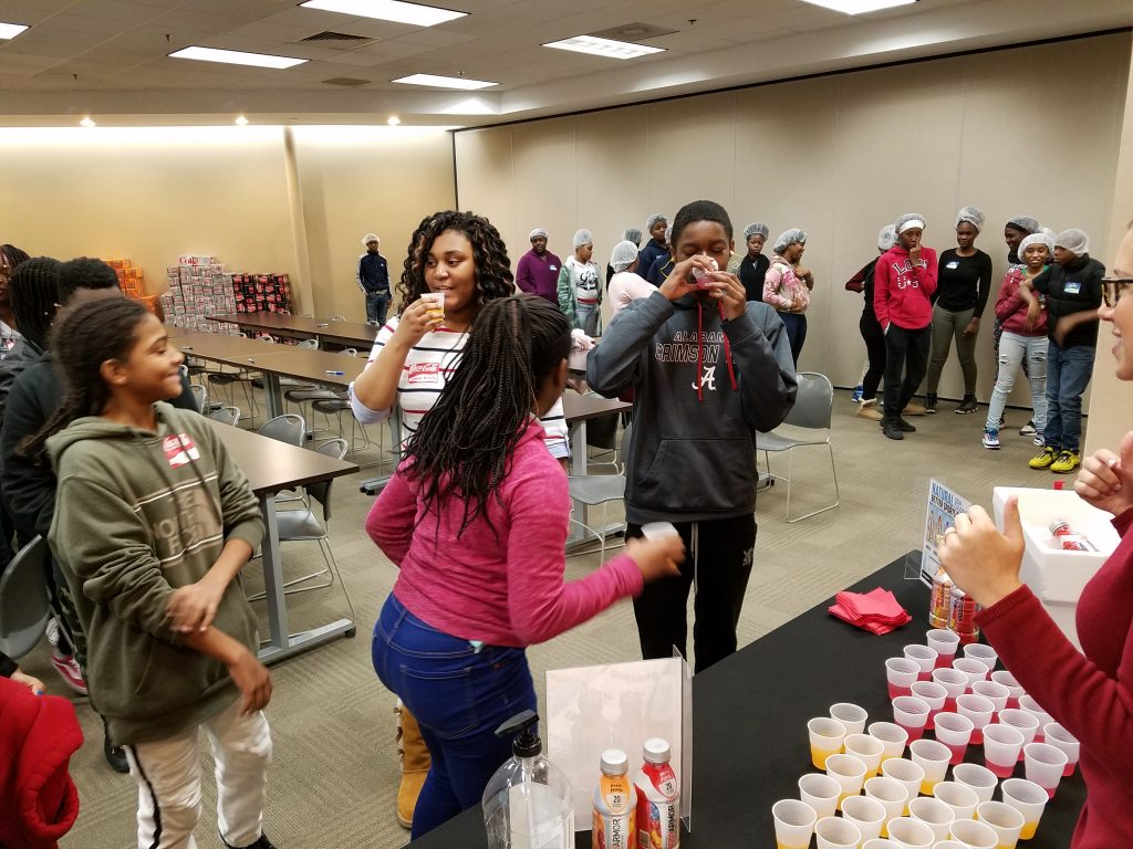 Birmingham Education Foundation Career Day, Birmingham Coca-Cola, Coca-Cola products