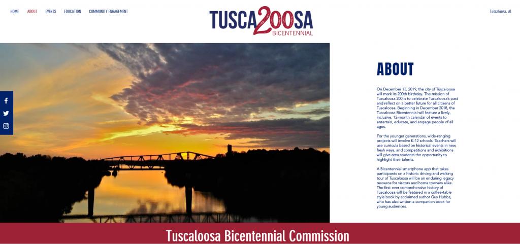 Tuscaloosa Bicentennial 200-Commission