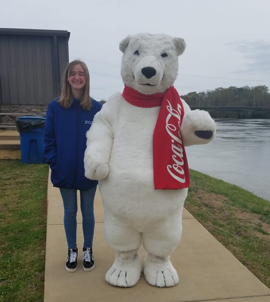 Coca-Cola Polar Bear, West Point, St Pattys Day