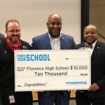 Florence High School, Powerade Power Your School program, Florence Coca-Cola