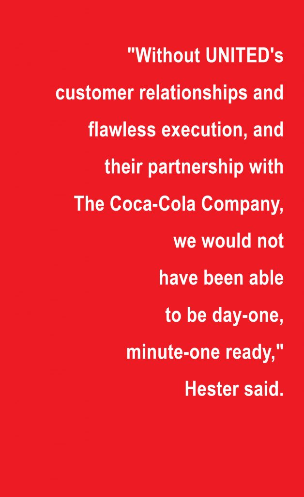 Super Bowl, Atlanta, Georgia, teamwork, The Coca-Cola Company, Partnerships, Relationships
