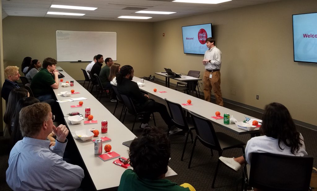 Career Day with UAB Collat School of Business - Coca-Cola UNITED