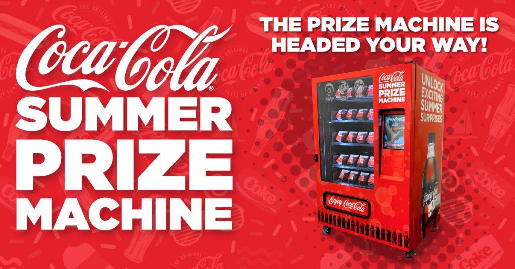 Coca-Cola Summer Prize Machine