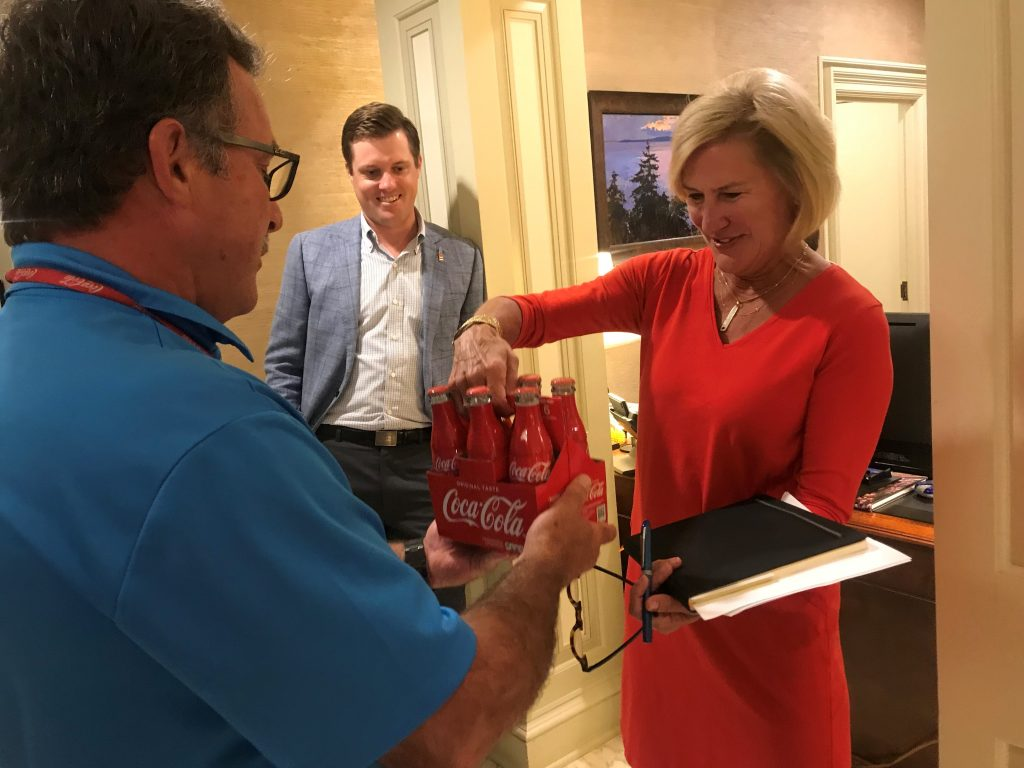 Benwood Foundation, celebrates Chattanooga Coca-Colas 120th