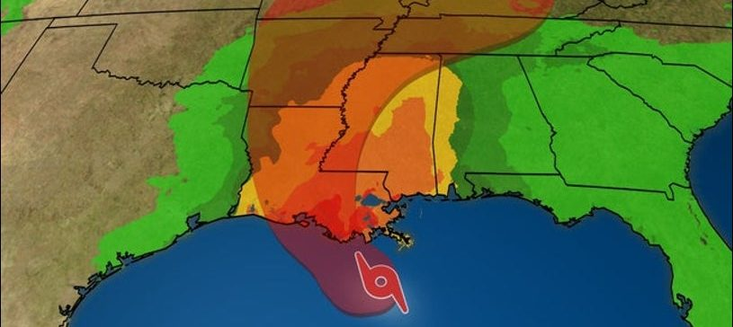 Operational Updates, Tropical Storm Barry, Louisiana, Mississippi