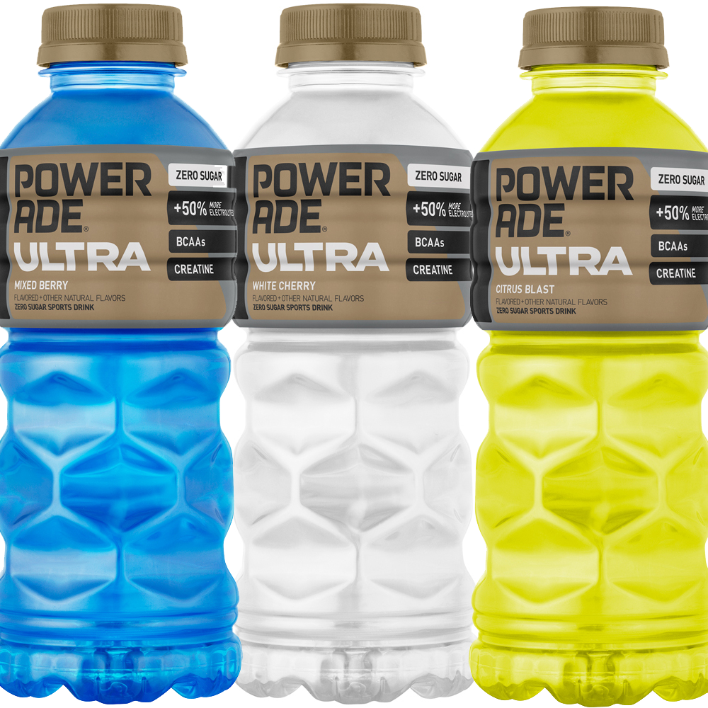 POWERADE mixed berry, white cherry and citrus blast picture