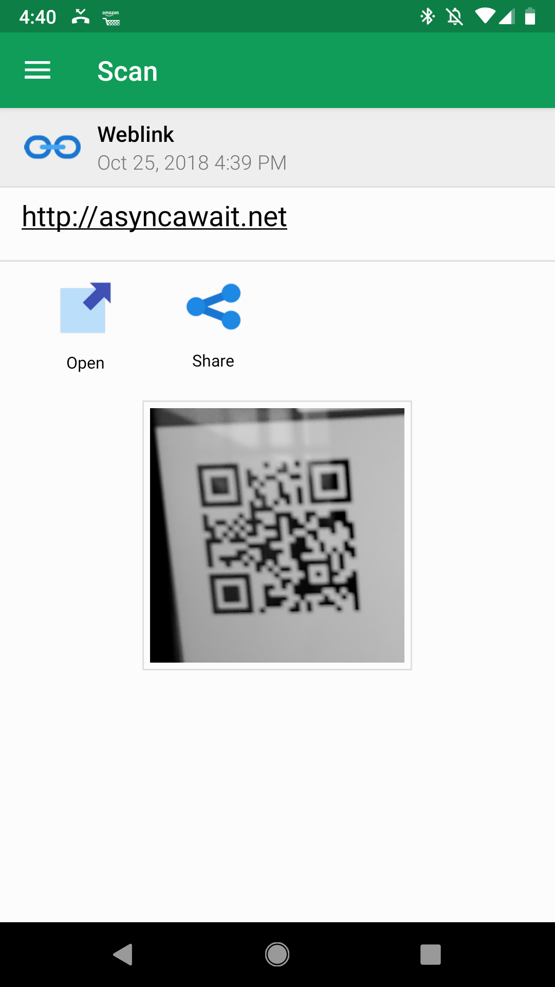 google chrome qr code scanner android