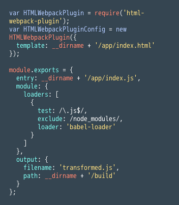 React Setup, Part IV: HTMLWebpackPlugin | Codecademy