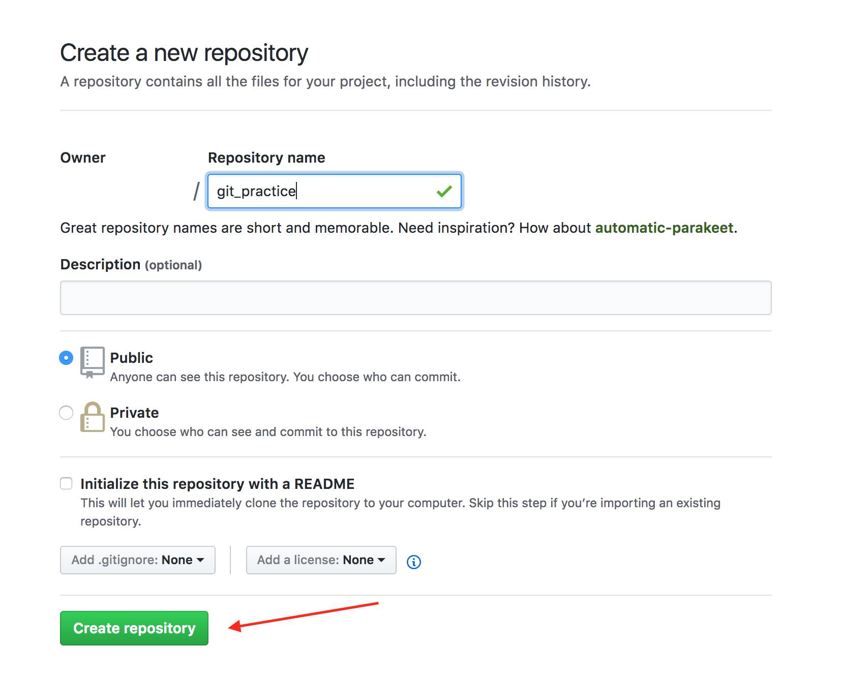 createRepository