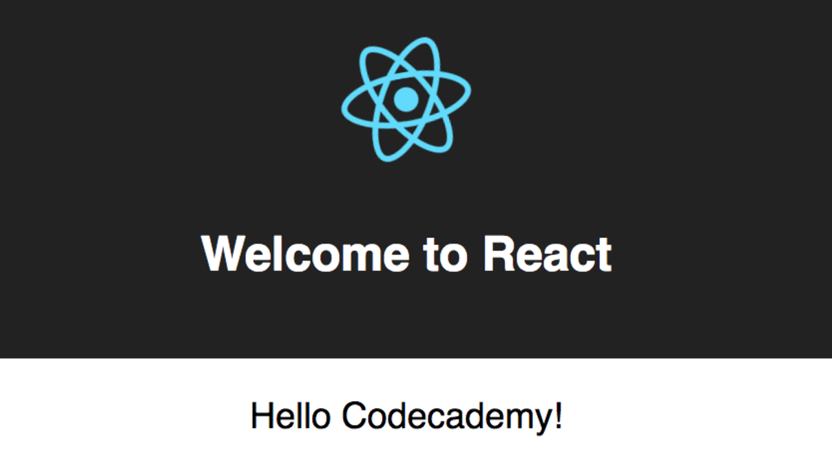 Creating a React App | Codecademy