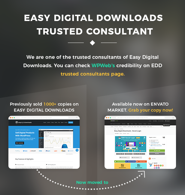 Easy Digital Download trusted consultant
