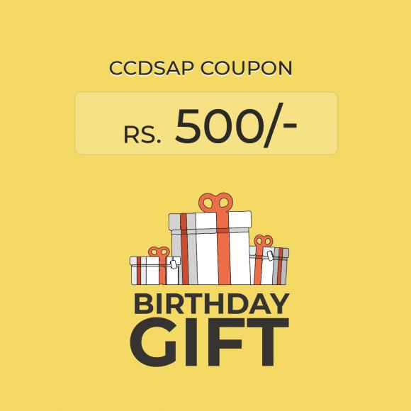 CCDSAP Coupon HBD2018
