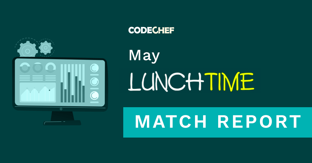 May LunchTime 2021 | A Star-Studded Ranklist!