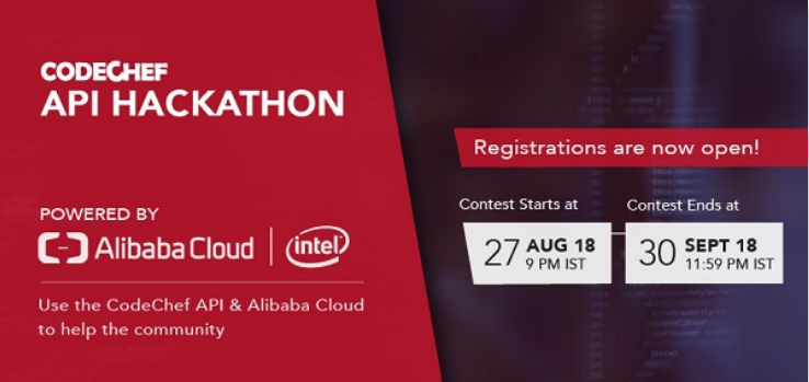 API Hackathon with Alibaba Cloud and Intel Banner