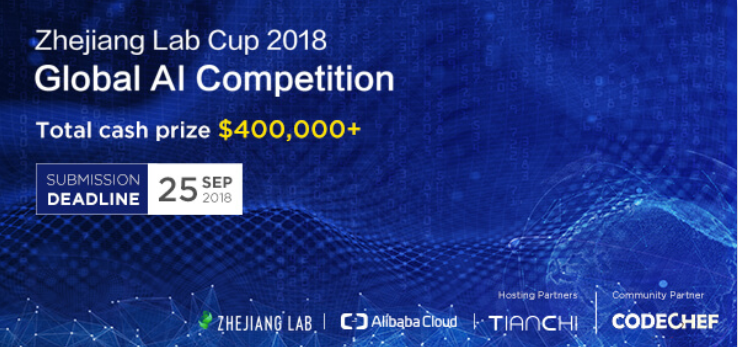 Zhejiang Lab Cup Global AI Competition Banner