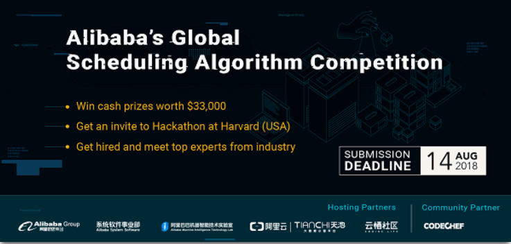 Global Scheduling Algorithm Competition Banner