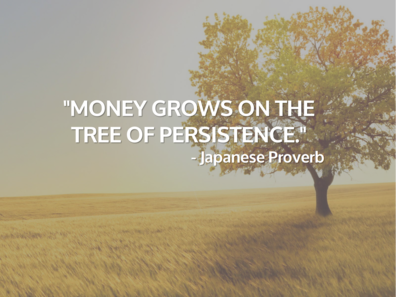 Money Grows on the Tree of Persistence
