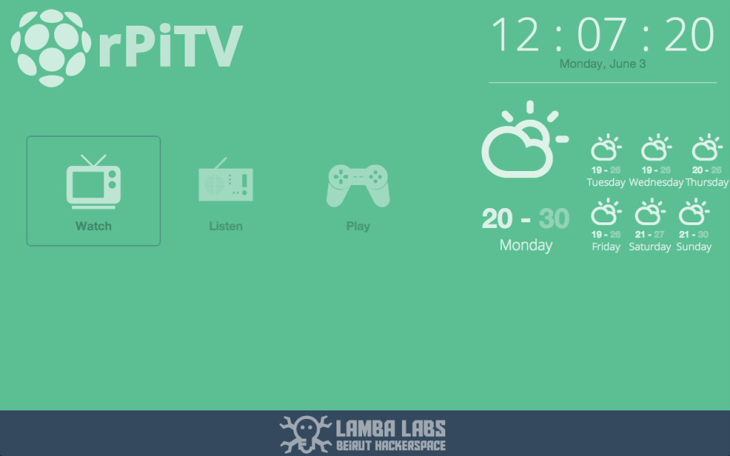 Tutorial: Build your own Smart TV Using RaspberryPi, NodeJS and